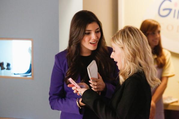 "Lauren & Sydney in ""Outbreak"" Episode 13 of Season 1"
