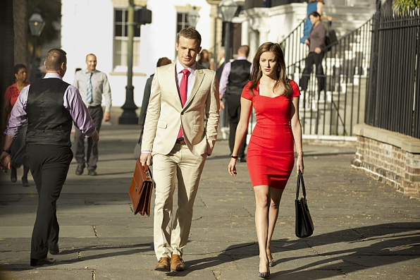 Cam Gigandet as Roy Rayder and Anna Wood as Jamie Sawyer