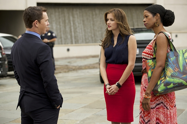 """Shawn Hatosy as Terry McCandless, Anna Wood as Jamie Sawyer, and Kim Wayans as Violet """"Vi"""" Briggs"""