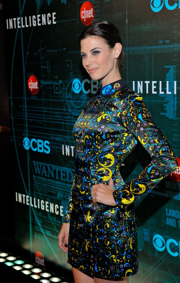 Meghan Ory at CES