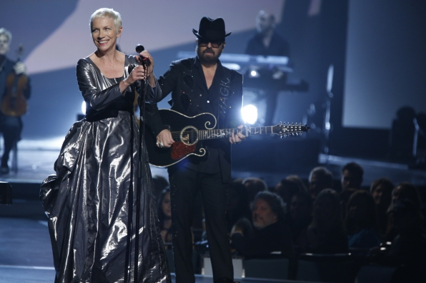 """Eurythmics - """"The Fool on the Hill"""" - The Beatles: The Night That Changed America- A GRAMMY® Salute - CBS.com"""