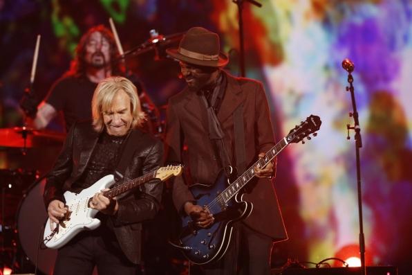 "Gary Clarke Jr. & Joe Walsh - ""As My Guitar Gently Weeps"" - The Beatles: The Night That Changed America- A GRAMMY® Salute - CBS.com"