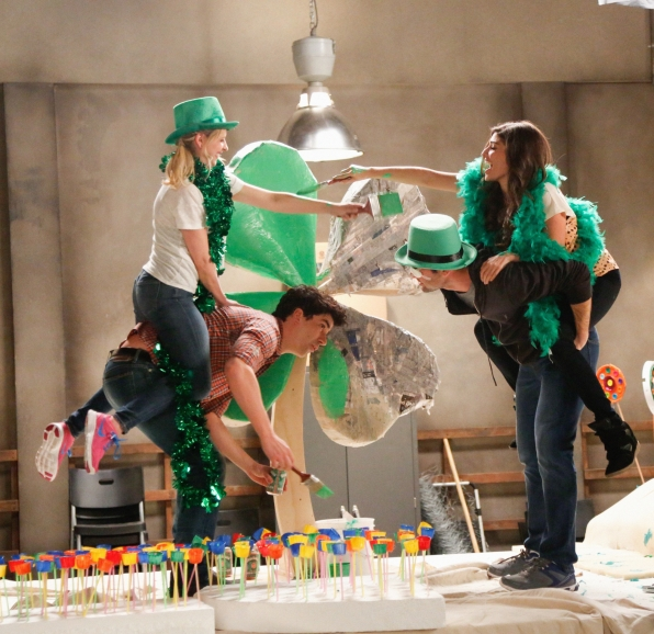 "Leprechaun fight in ""March Madness"" S1 E18"