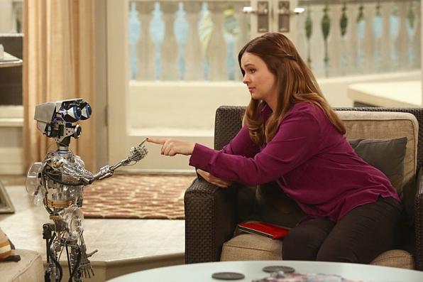 "Robot bonding in ""Oh, Wald-E, Good Times Ahead"" S11 E22"