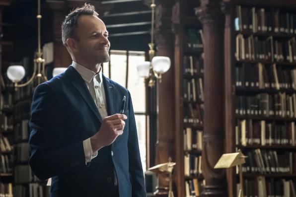 """Sherlock in """"The Grand Experiment"""" S2E24"""