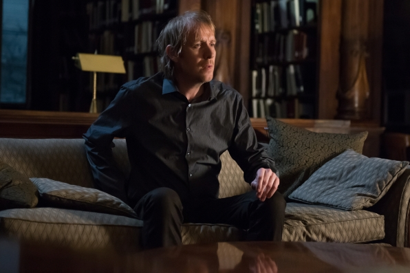 """Rhys Ifans returns as Mycroft Holmes in """"The Grand Experiment"""" S2E24"""