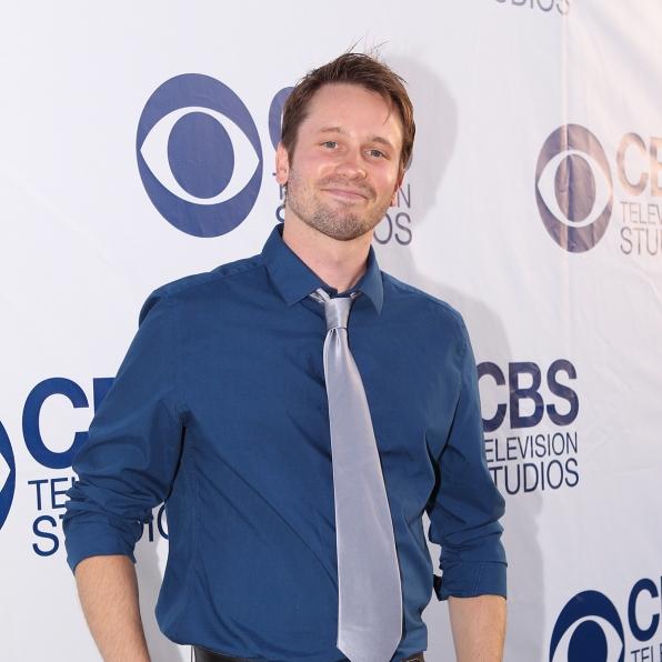 Tyler Ritter on the CBS Summer Soiree Red Carpet
