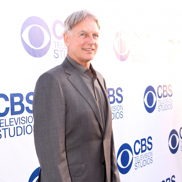 Mark Harmon on the CBS Summer Soiree Red Carpet