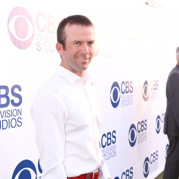 Lucas Black on the CBS Summer Soiree Red Carpet
