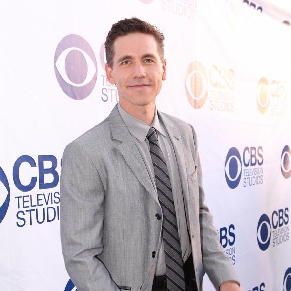 Brian Dietzen on the CBS Summer Soiree Red Carpet