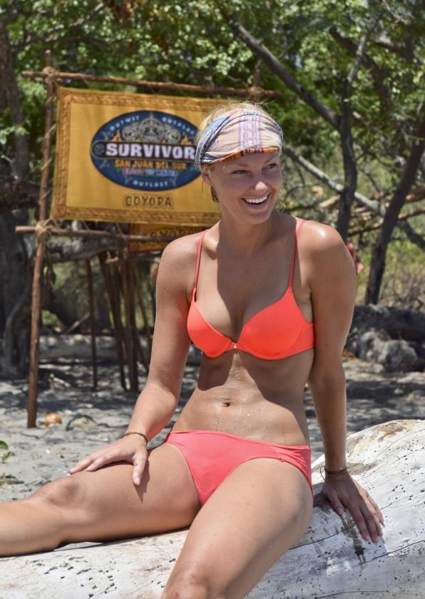 Nude beach castaway survivor unusual revival