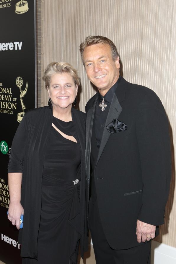 Doug Davidson and Cindy Fisher - Daytime Emmy Awards Red Carpet