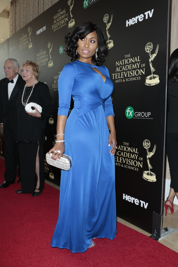 Angell Conwell - Daytime Emmy Awards Red Carpet