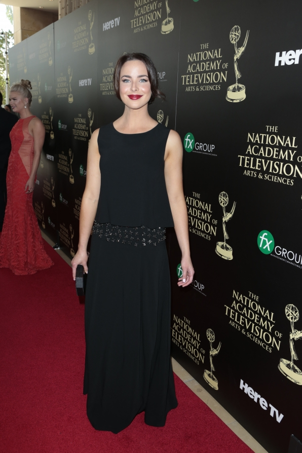 Ashleigh Brewer - Daytime Emmy Awards Red Carpet