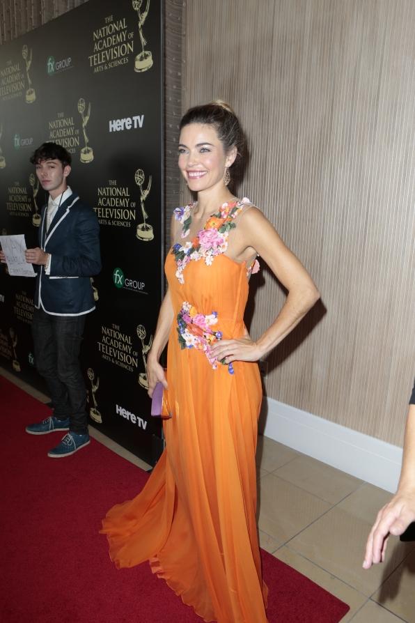 Amelia Heinle - Daytime Emmy Awards Red Carpet