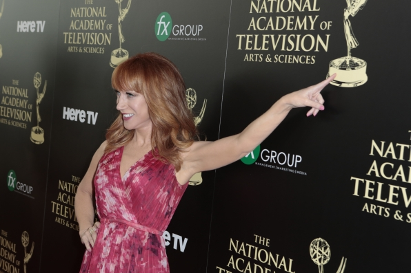 Kathy Griffin - Daytime Emmy Awards Red Carpet