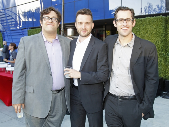 Ari Stidham, Eddie Kaye Thomas and Nicholas Wootton - Scorpion
