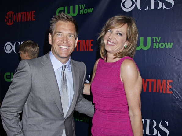 Michael Weatherly and Allison Janney - NCIS and Mom