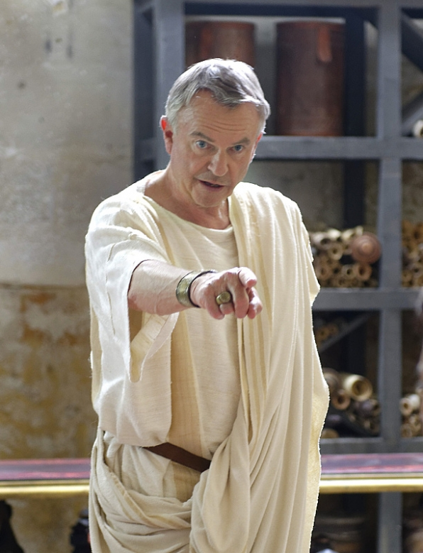 Sam Neill as first-century Jewish scholar and historian Josephus