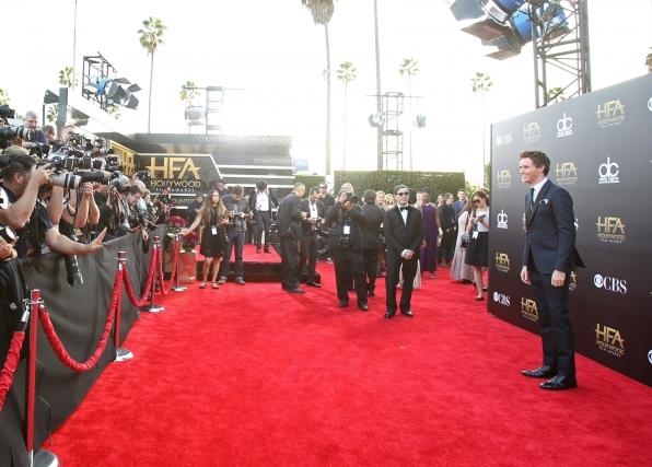 Eddie Redmayne on the Red Carpet