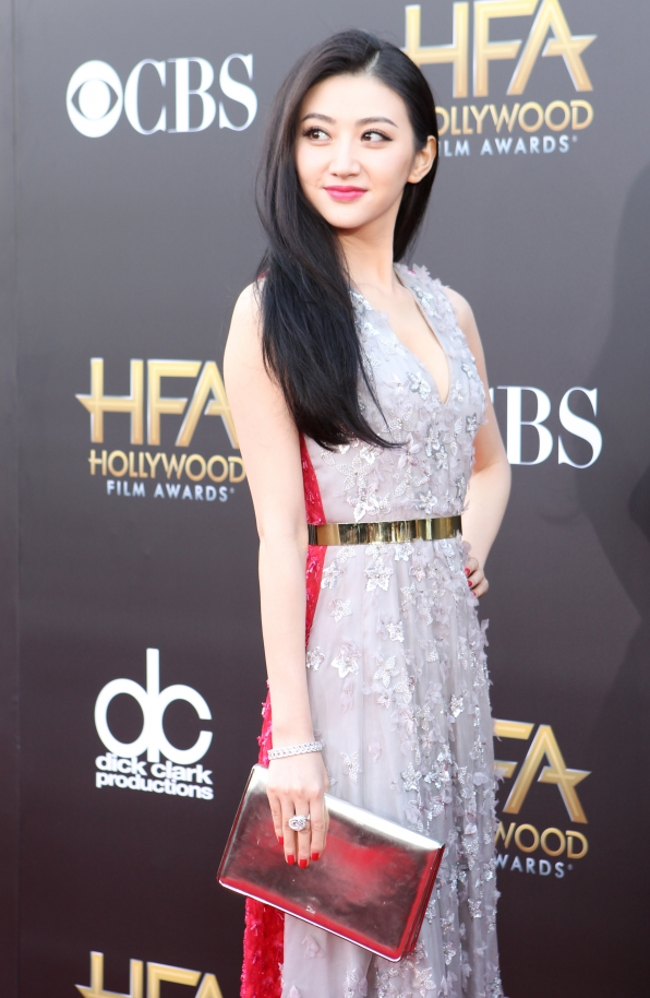Jing Tian on the Red Carpet