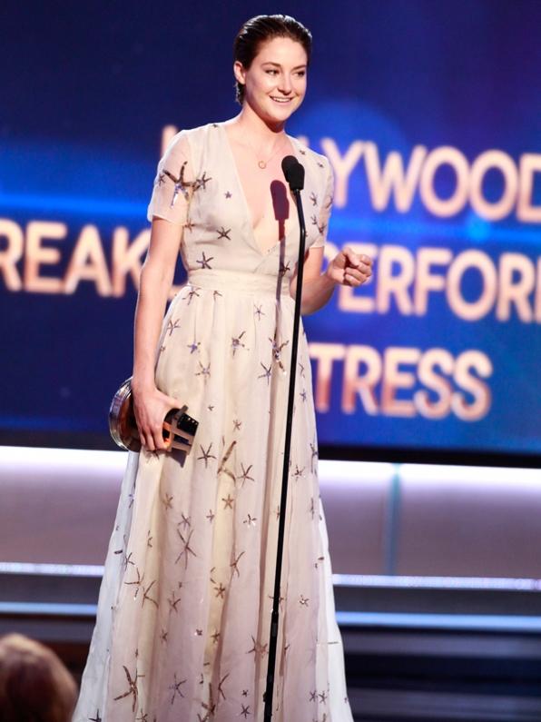Breakout Actress Winner, Shailene Woodley
