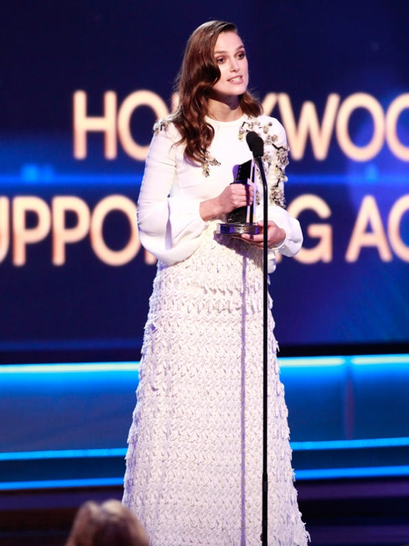 Supporting Actress Winner, Keira Knightley