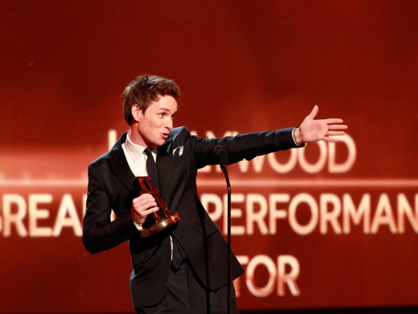 5. It's easy to compliment Eddie Redmayne.