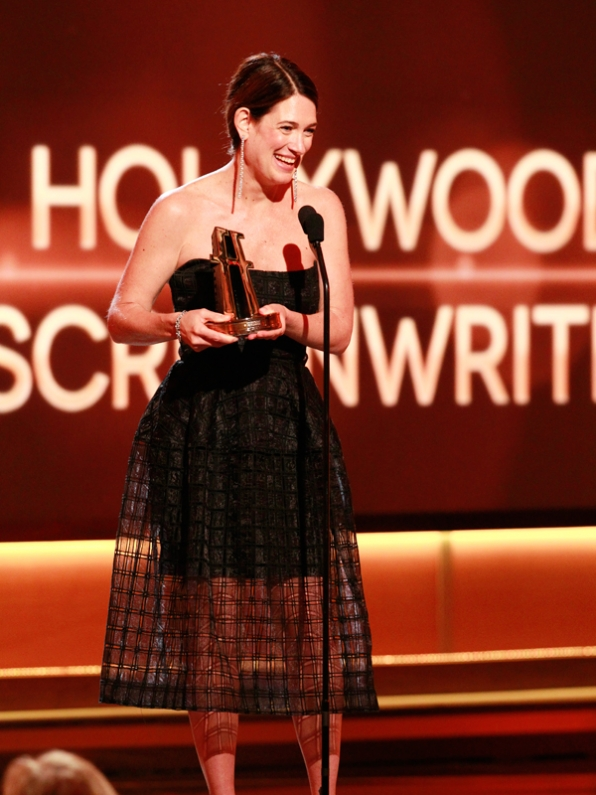 Gillian Flynn, Winner Screenwriting 'Gone Girl'