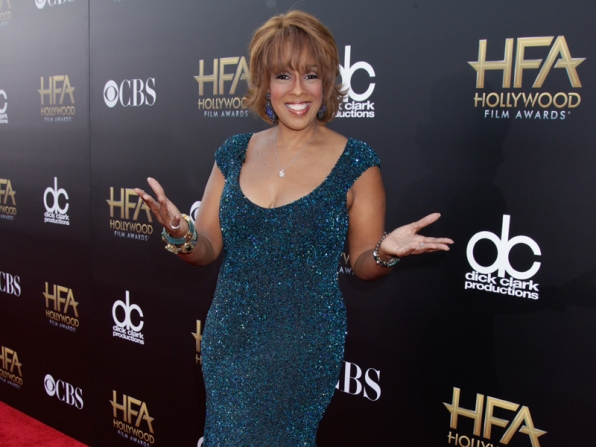 Gayle King on the Red Carpet