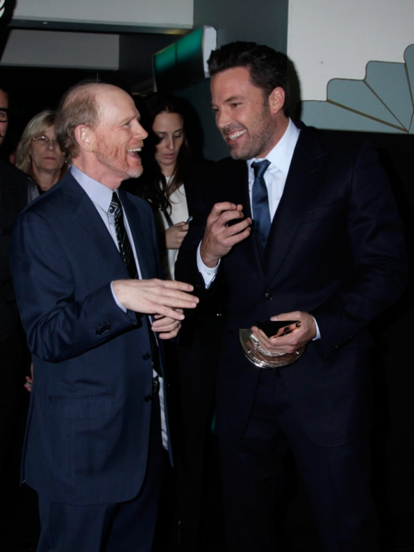Ron Howard and Ben Affleck