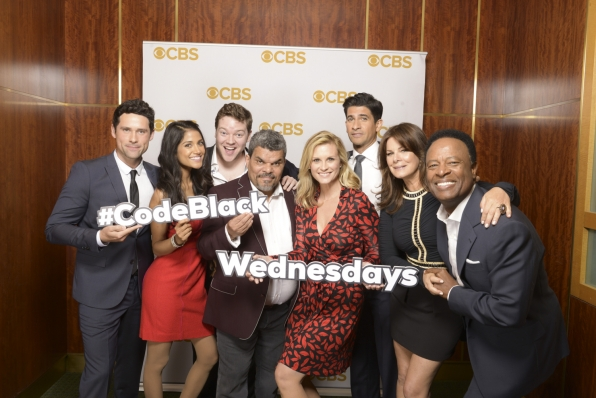 The cast of Code Black