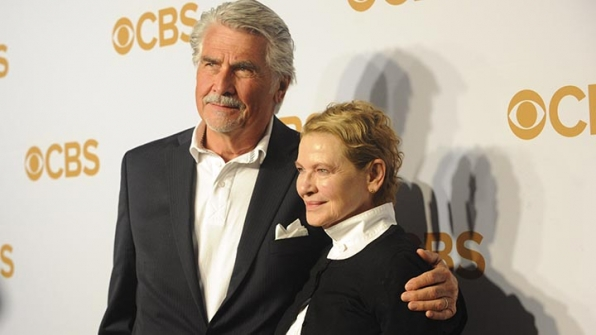 James Brolin and Dianne Wiest were a match made in heaven on the gold carpet.