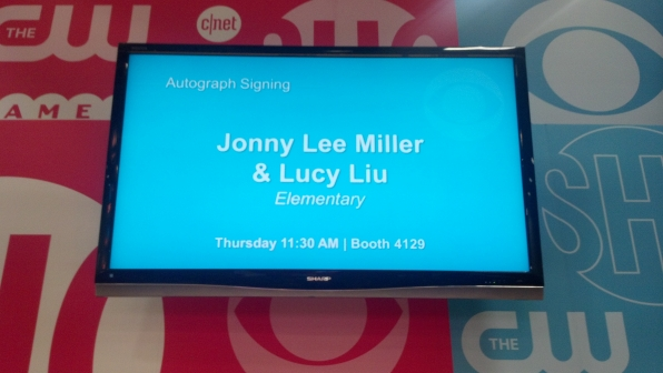 Autograph Signing Signage