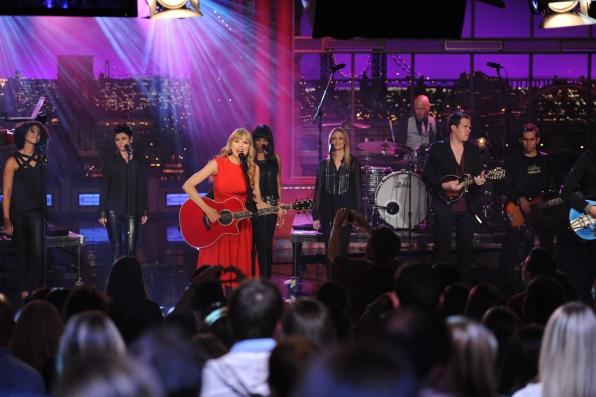 Taylor Swift in the Spotlight