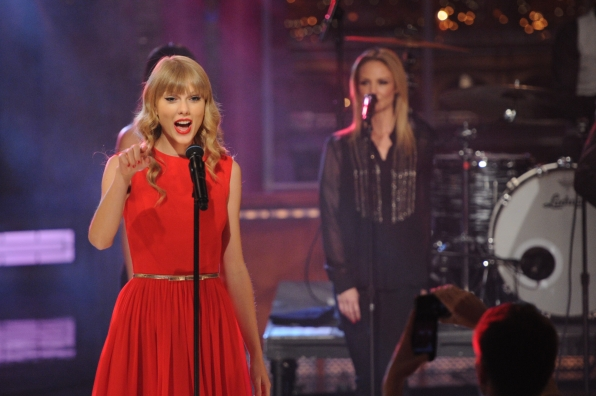 Taylor Swift with Background Vocalists