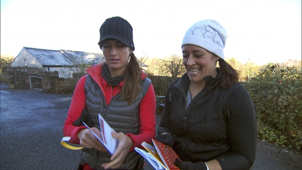 """Mona and Beth in the season finale of The Amazing Race """"Beacon of Hope"""""""
