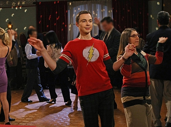 e960dfbb6 Sheldon Cooper's Best Superhero T-Shirts on The Big Bang Theory ...