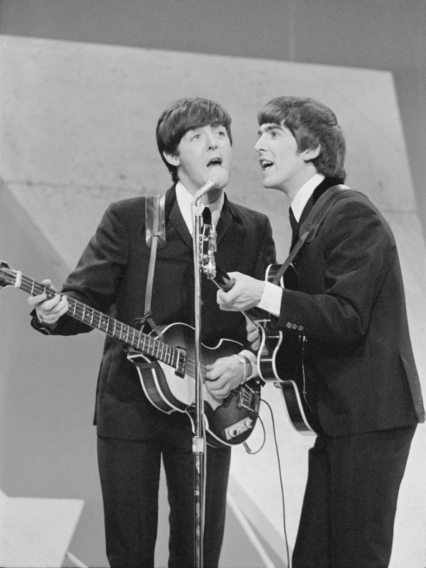 The Beatles on Ed Sullivan