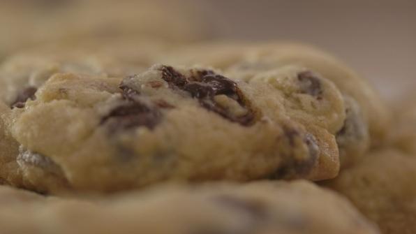 Up close & chocolate-y
