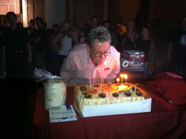 Birthday on set of Criminal Minds