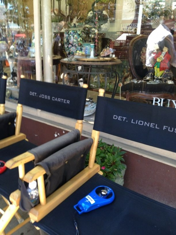 Person of Interest's Kevin Chapman Tweets On the Set