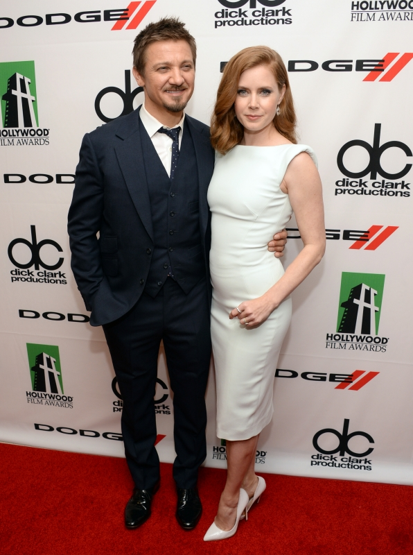 7. Jeremy Renner and Amy Adams