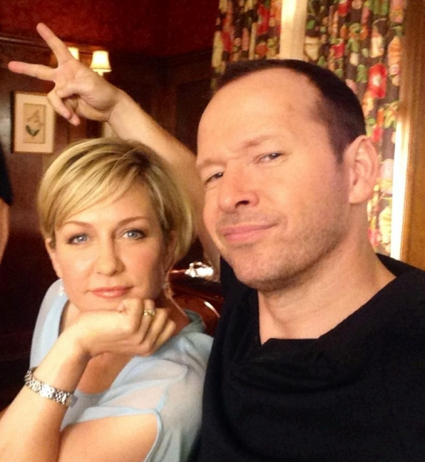20. Blue Bloods - Amy Carlson and Donnie Wahlberg