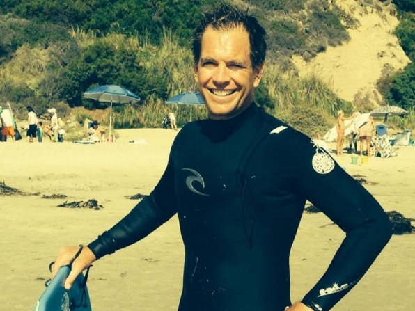 1. Michael Weatherly - Triathlons - NCIS
