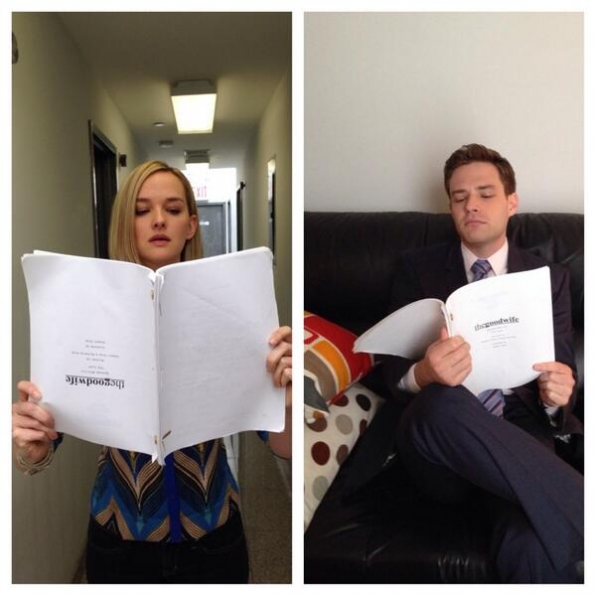 40. The Good Wife - Jess Weixler and Ben Rappport