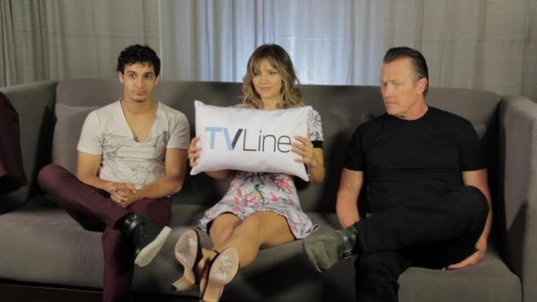 8. TV Line Interviews the Cast of Scorpion with Some Sweet Pillows
