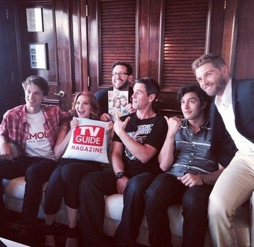 17. The Cast of Under the Dome Hop Aboard the TV Guide Yacht