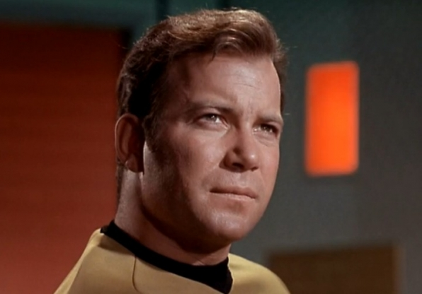 William Shatner to reprise Captain Kirk role—and read from his autobiography.