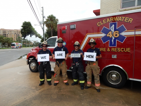 Clearwater's Fire & Rescue Firefighters